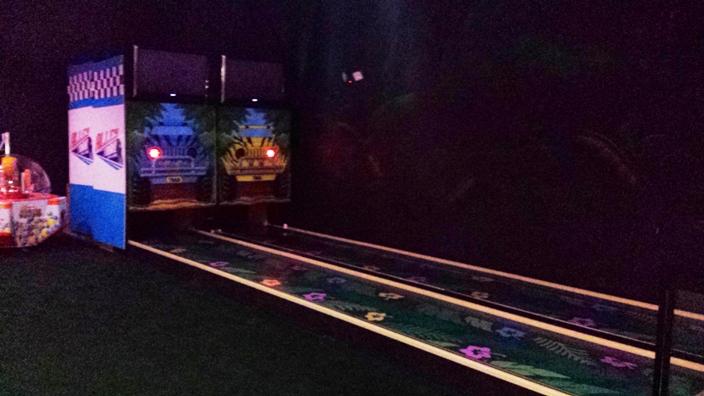 Mini bowling lanes for sale : Q park soho