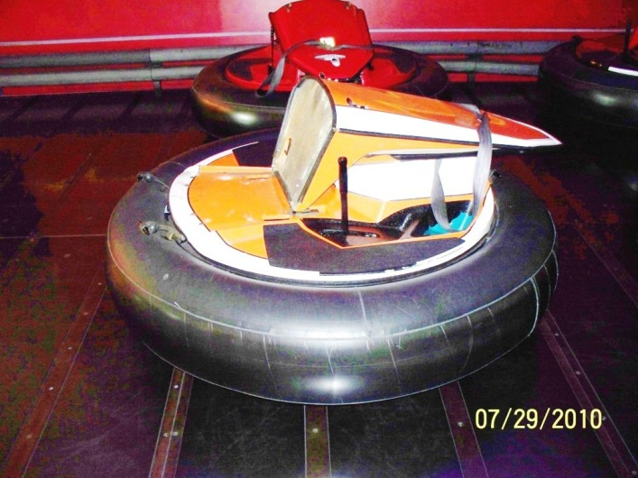 Used Spin Zone Bumper Cars For Sale
