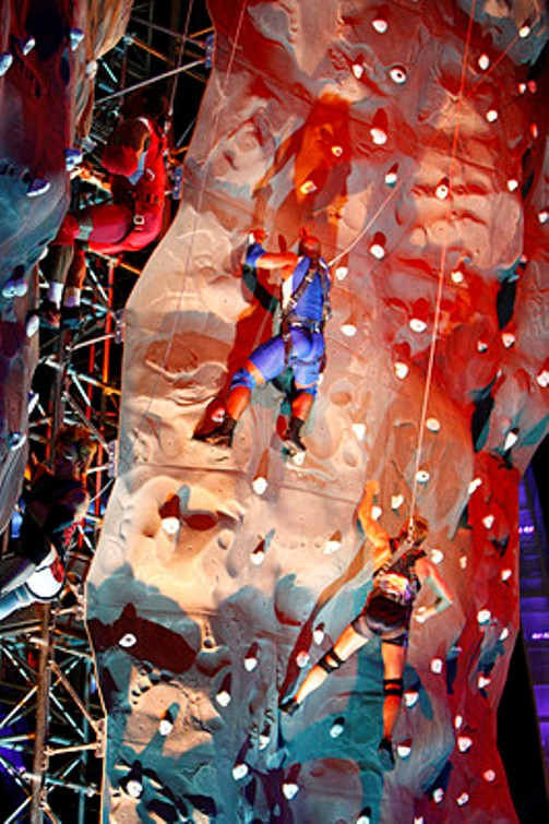 TV show American Gladiator climbing walls for sale