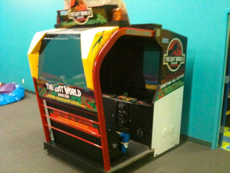 Do any arcades (etc.) have The Lost World arcade game (Jurassic ...