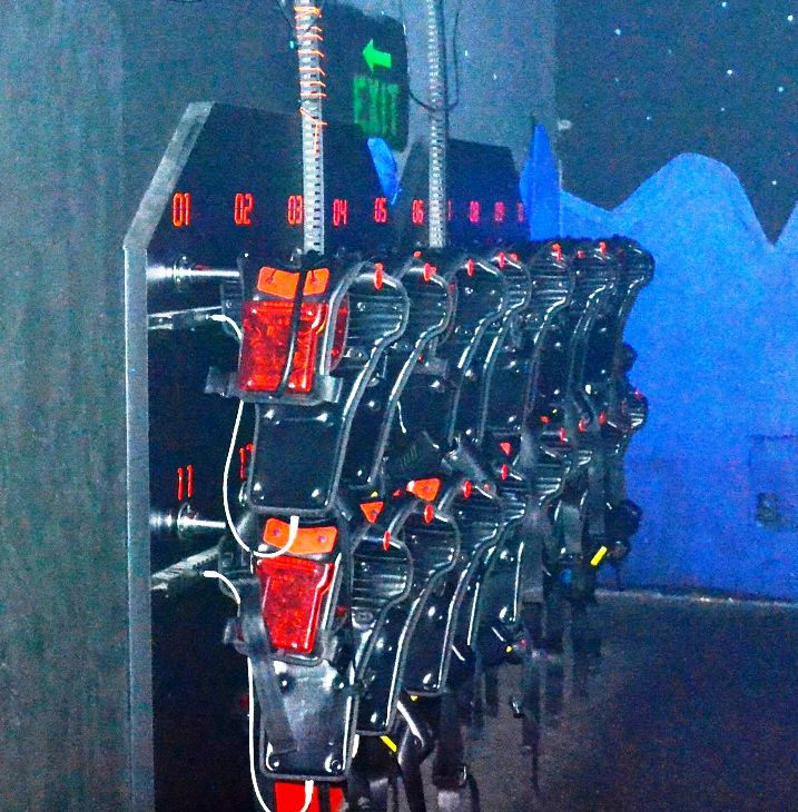 Used Lasertron Laser Tag Equipment