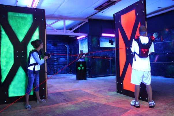 Used Laser Laser Tag Equipment Fun Center Equipment