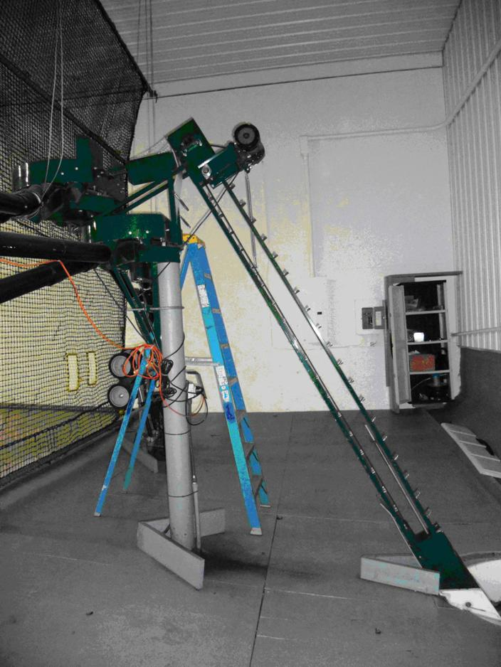 batting cage pitching machine for sale