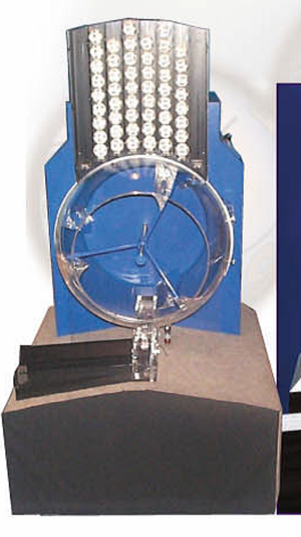 Lottery ball machine for sale