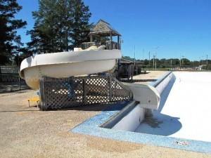 Pool water slide for sale